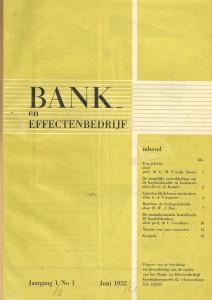 Boek B&E nr 1