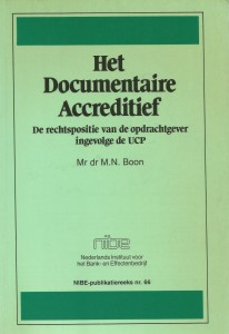 Boon Documentair Accreditief