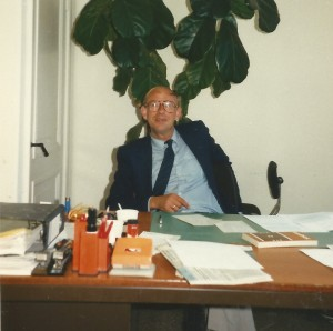 Collega Bert Tjallema