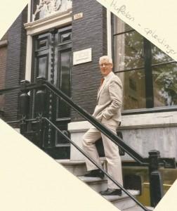 Collega Bert van Huffelen