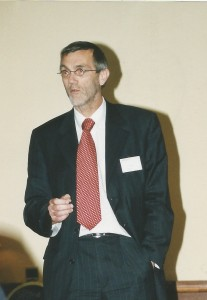 Dik van Velzen in 2002